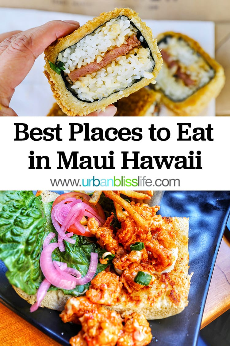best places to eat in maui