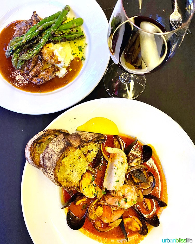 Carina lounge Portland dining month 2020