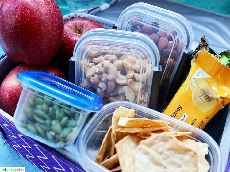 road trip snacks for kids