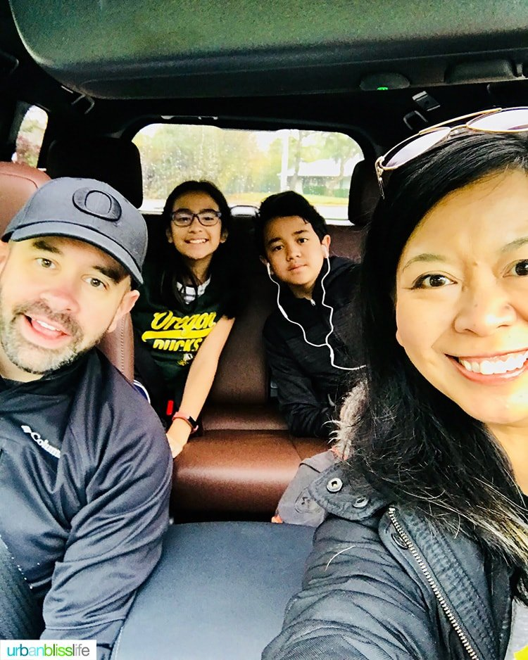 Schotland family road trip Portland to Seattle