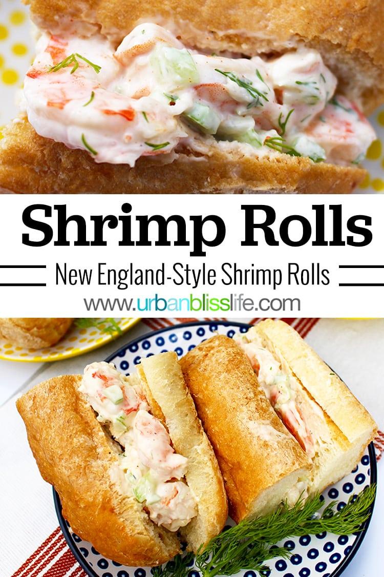 New England Style Shrimp Roll Recipe