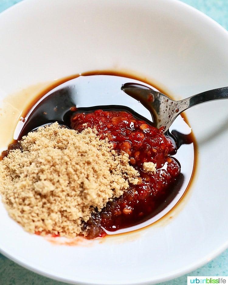making chili oil sauce