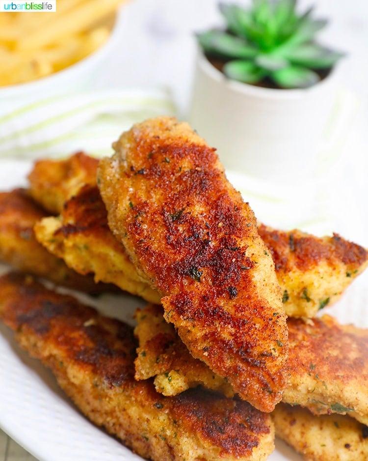 Breaded Chicken Tenders: a family friendly dinner idea