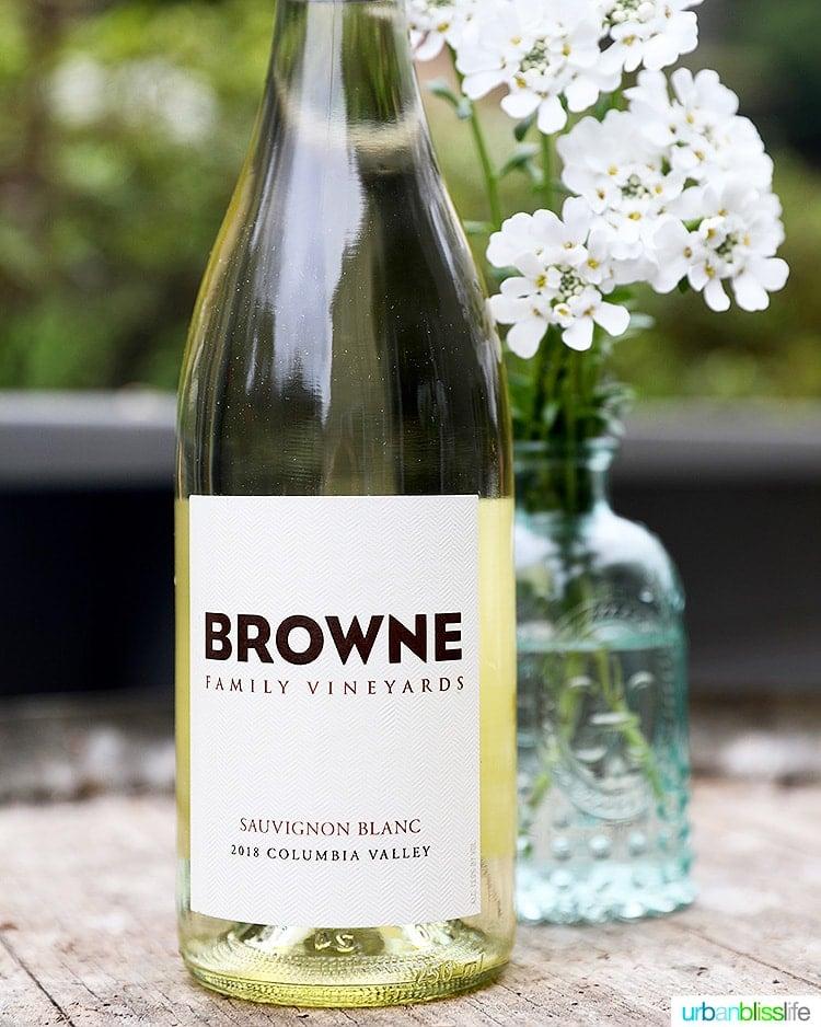 Brown family vineyards Sauvignon Blanc