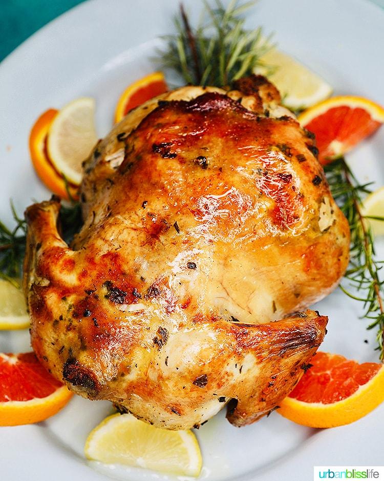 Citrus Herb Roast Chicken