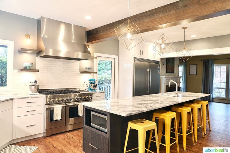 Portland Kitchen remodel before and after