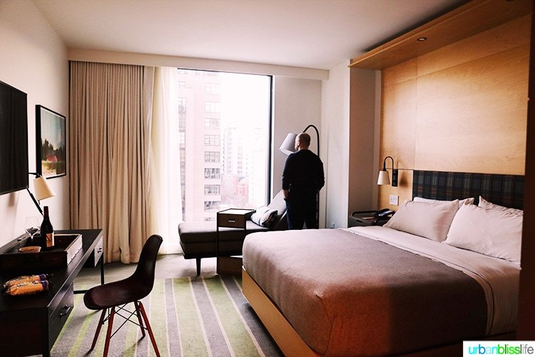 Guest room in Canopy by Hilton Portland - a Pearl District Portland hotel