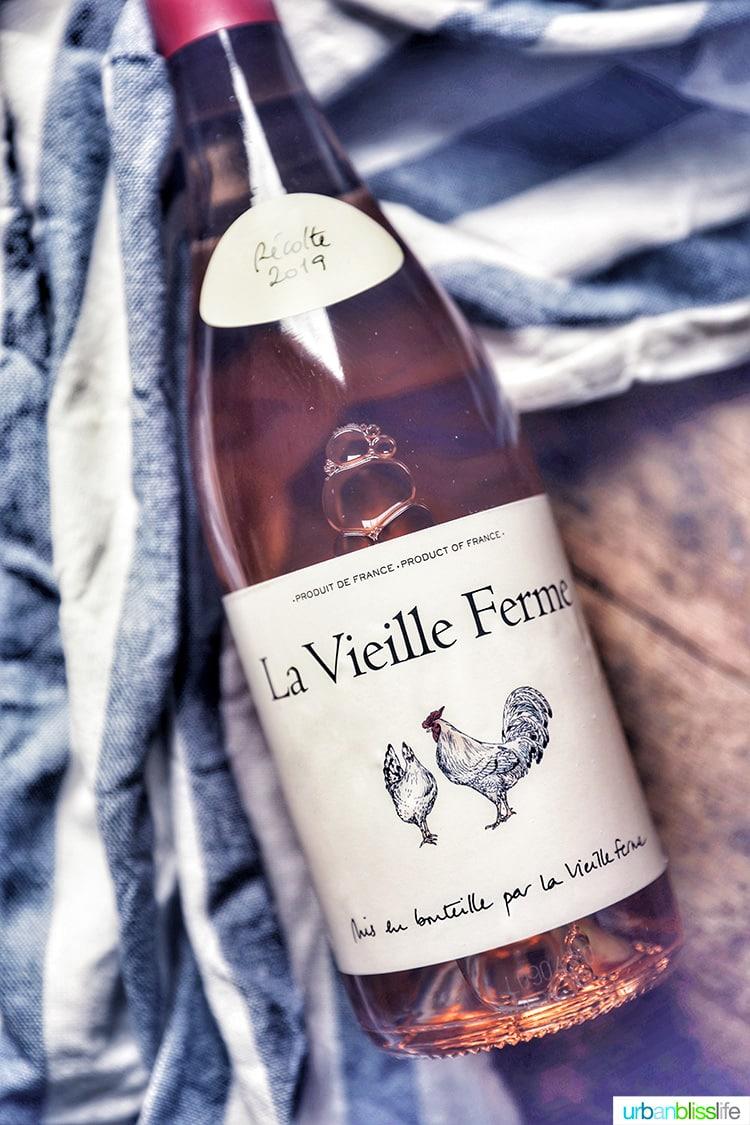 La Vieille 2019 Rosé bottle