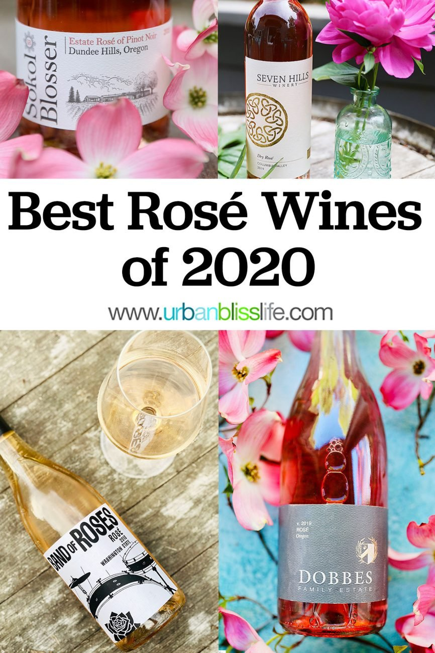 National Rosé Day best wines of 2020 graphic