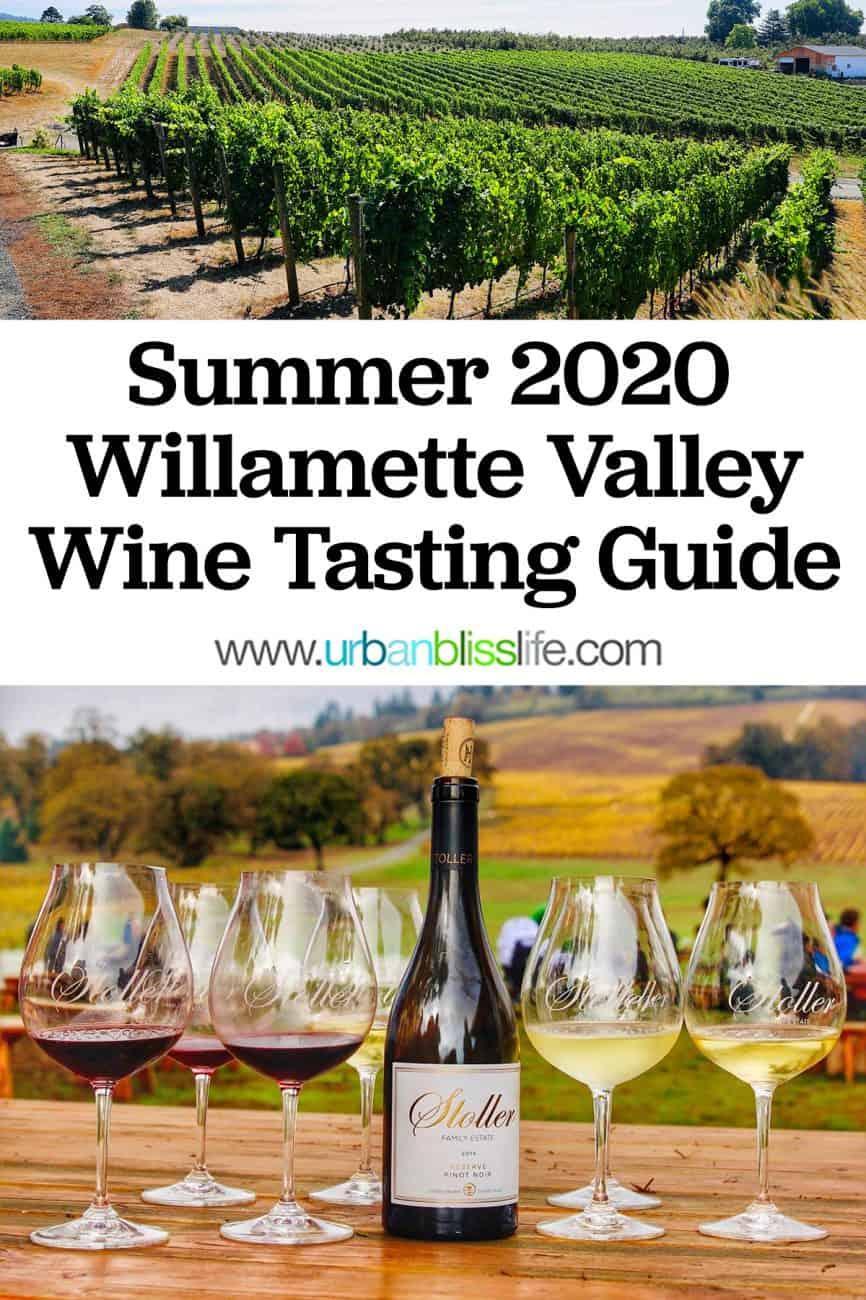 Wine Tasting Guide: Willamette Valley, Oregon, main graphic