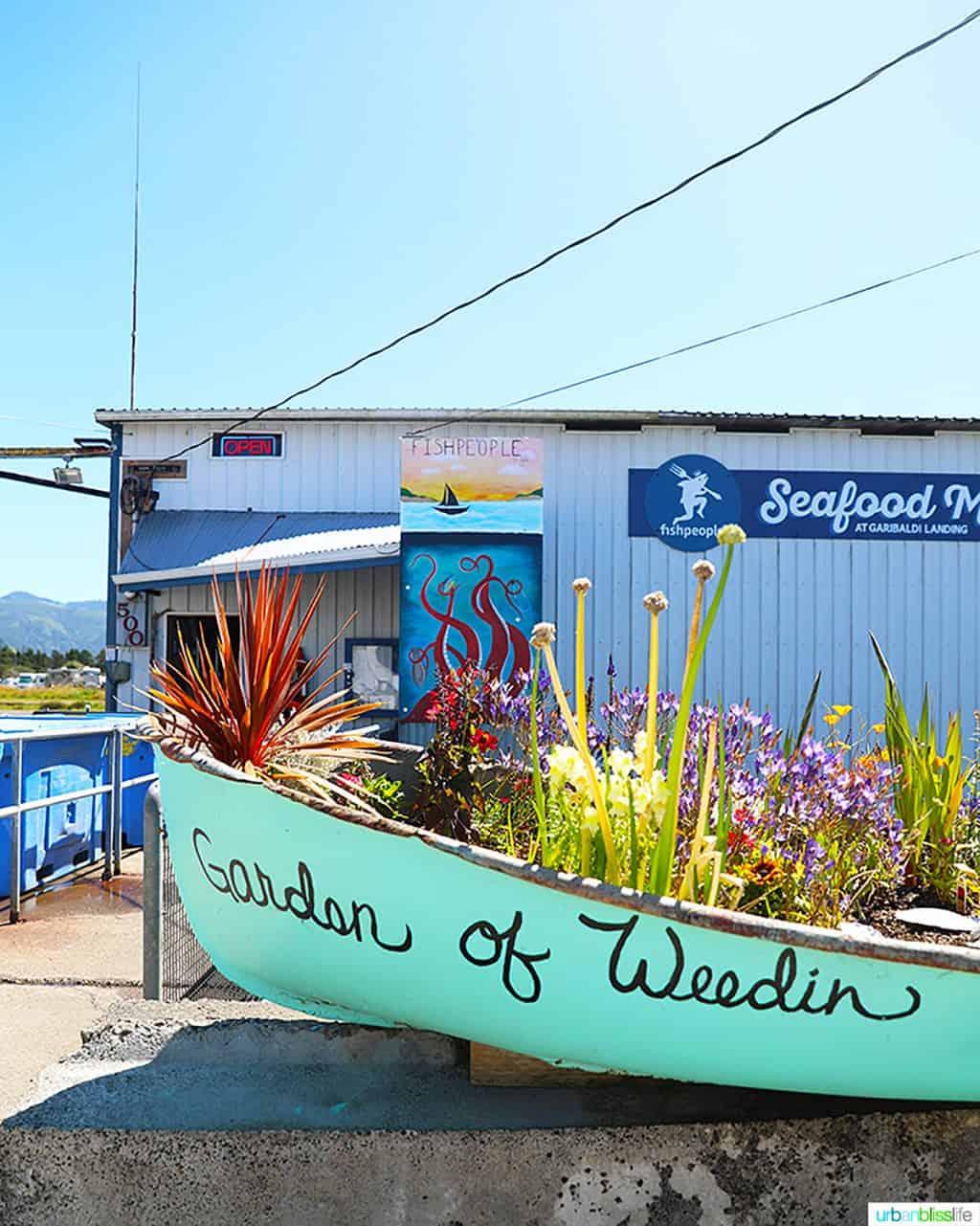 outside of Fishpeople Seafood Garibaldi, Oregon