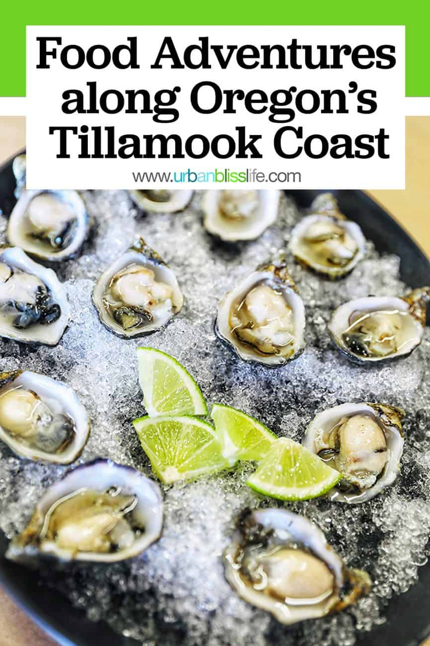 Oregon oysters Pinterest Graphic