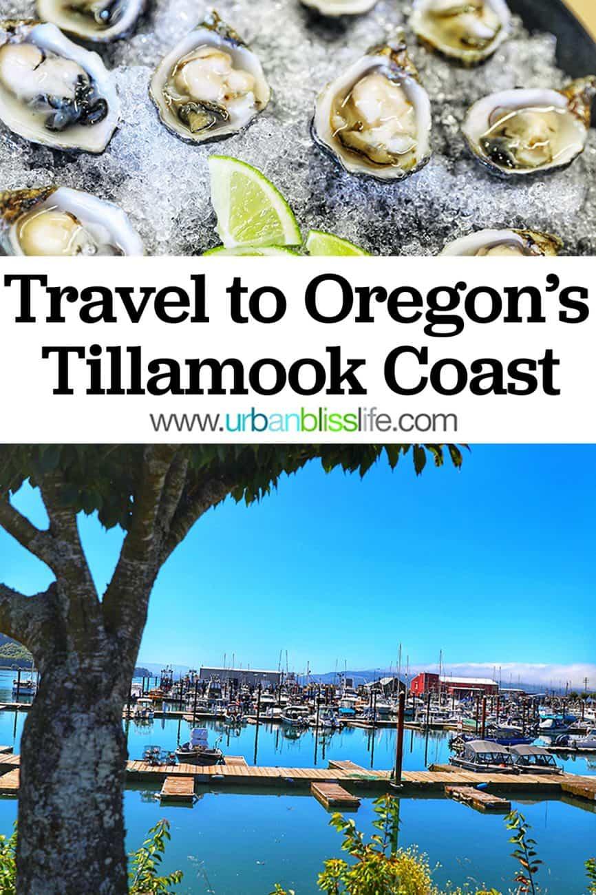 Oregon Coast travel pinterest graphic