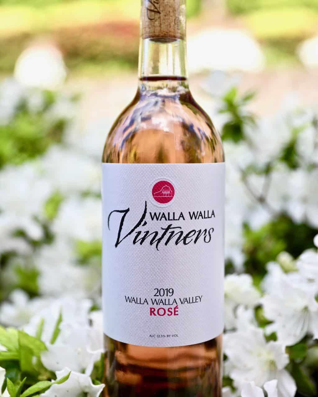 Walla Walla Vintner 2019 Rosé wine bottle