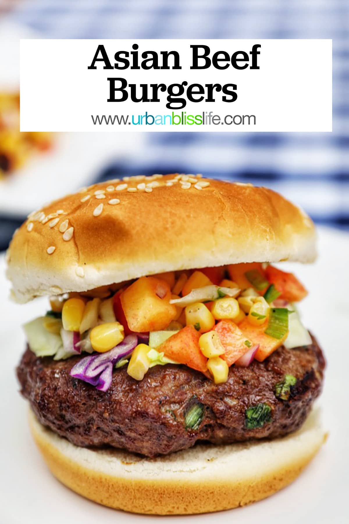 Asian beef burgers main graphic