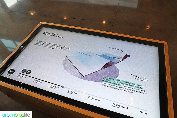 Stollery winery interactive tables