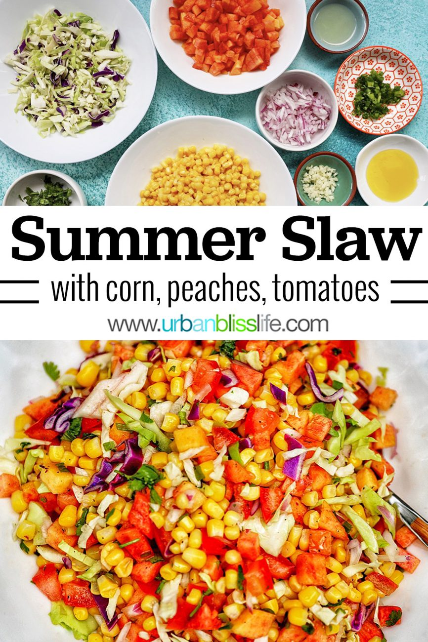 main graphic for Summer Slaw recipe