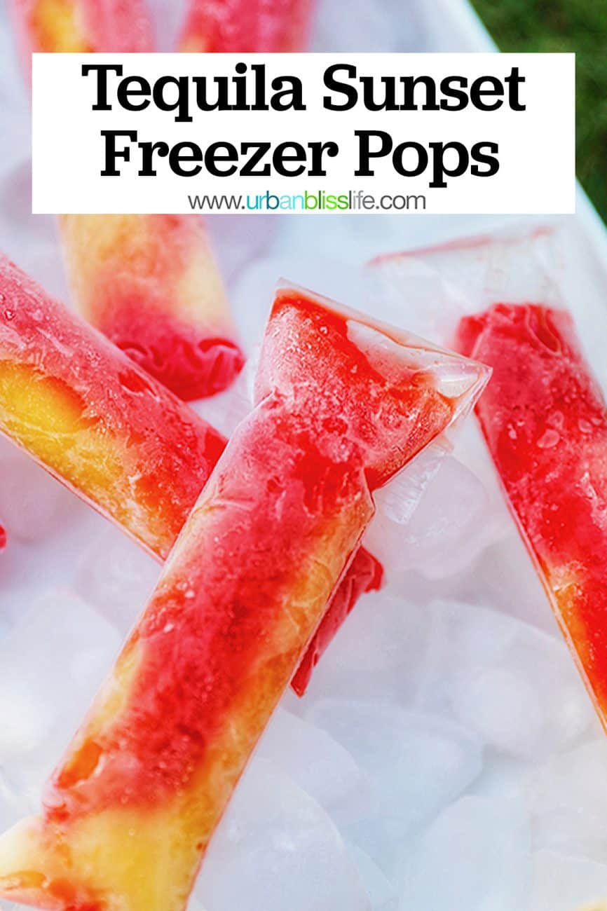 main graphic for Tequila Sunset Pops