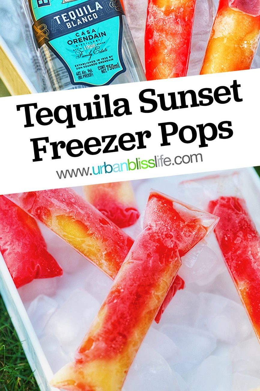 main graphic for Tequila Sunset Freezer Pops