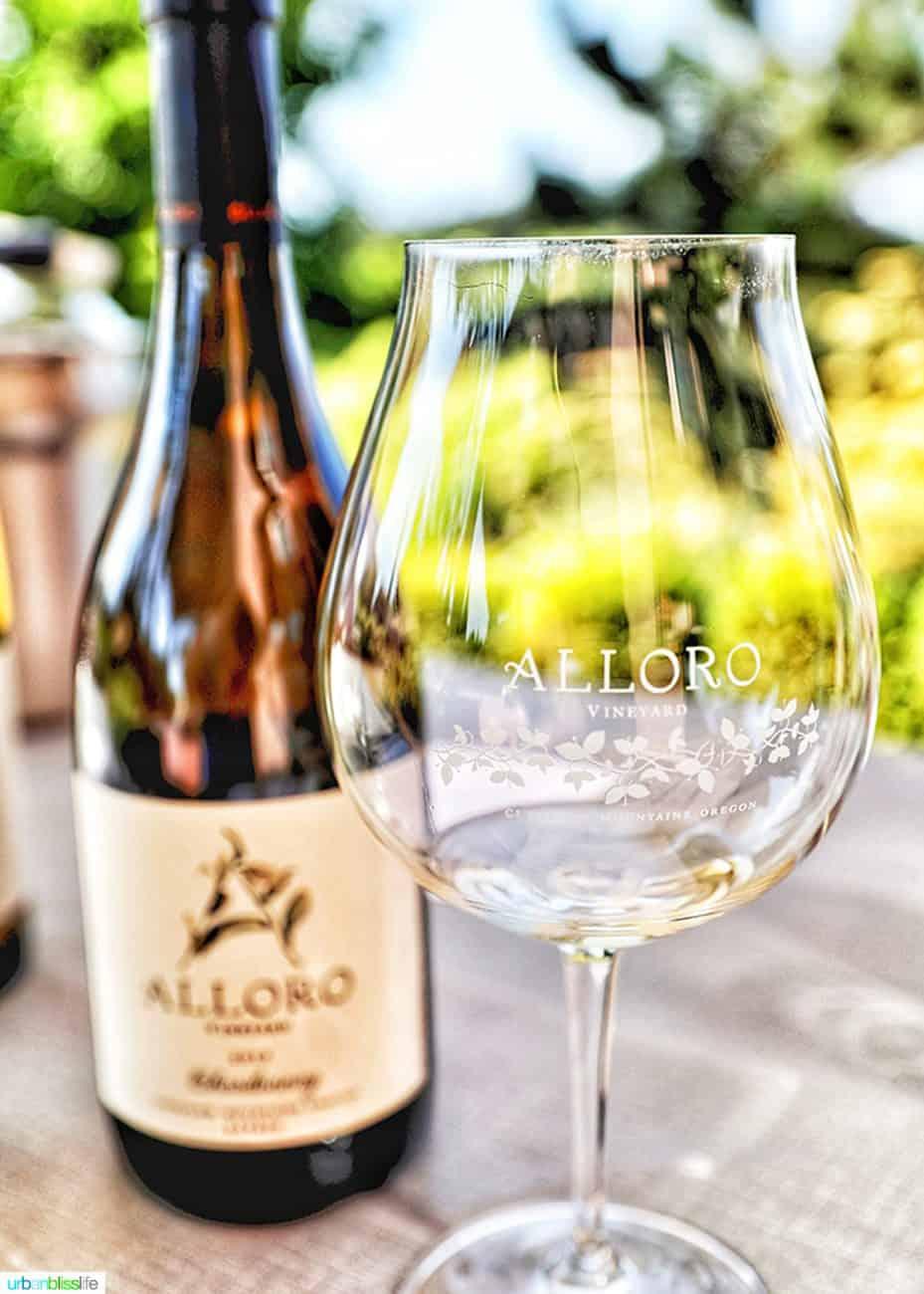 Alloro Vineyards Riesling