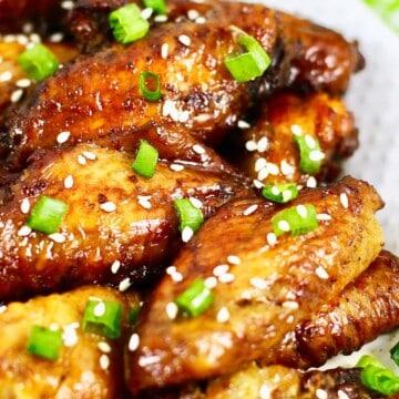 baked teriyaki chicken wings
