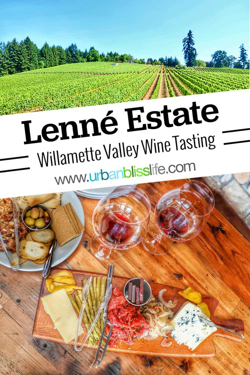 Lenné Estate winery in