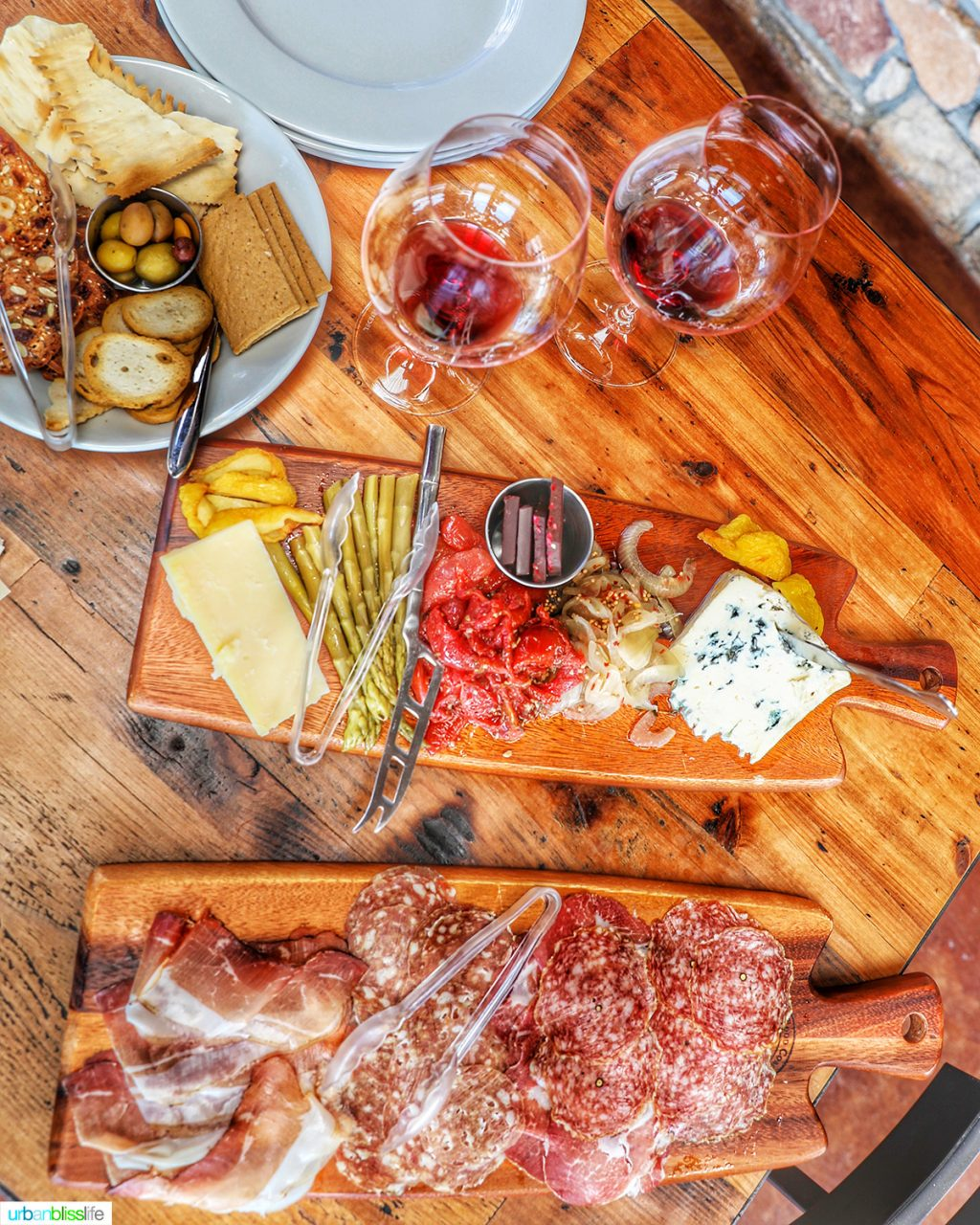 Lenne Estate Pinot Noir and Cheese and Charcuterie Boards