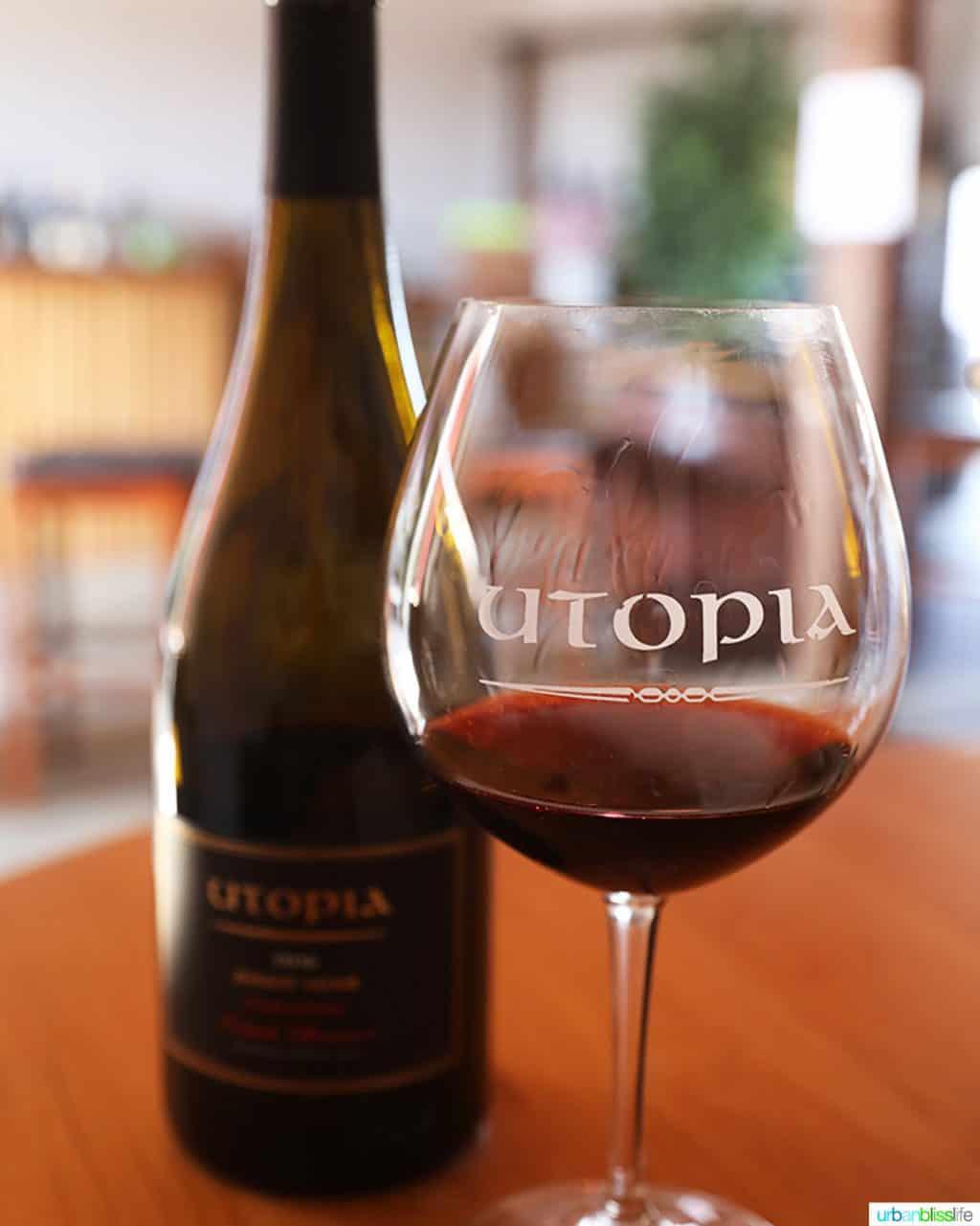 Utopia Vineyard pinot noir