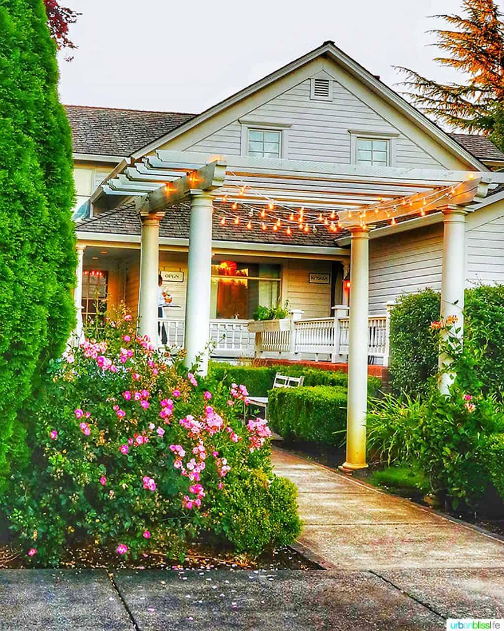 joel palmer house entrance