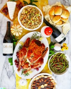 Small Thanksgiving Dinner at home