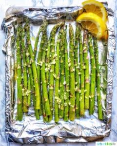 garlic lemon asparagus