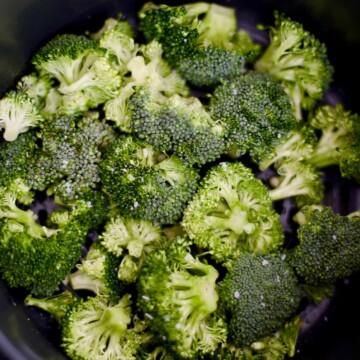 broccoli in the Ninja Foodi