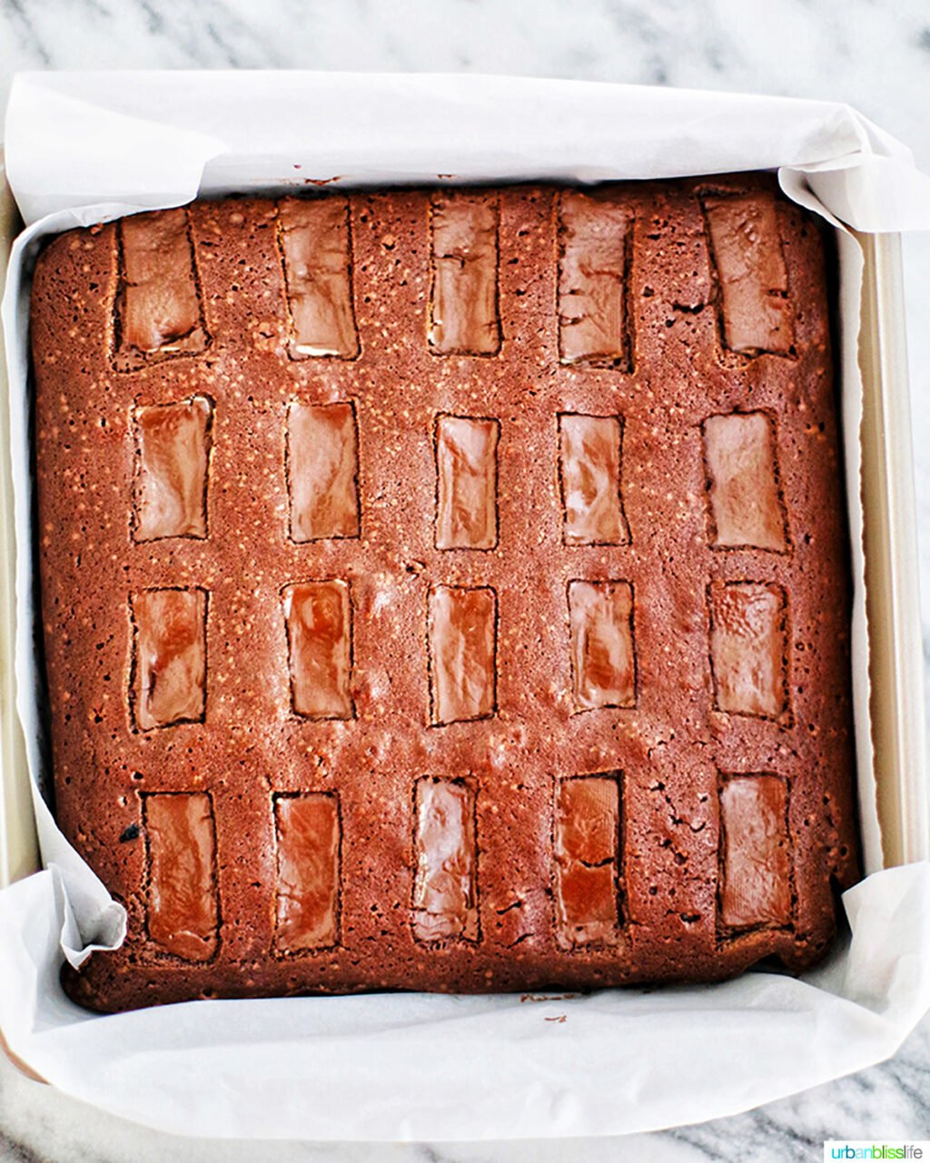 andes mints brownie baked