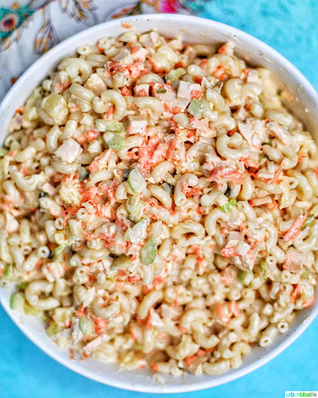 Filipino Macaroni Salad without eggs