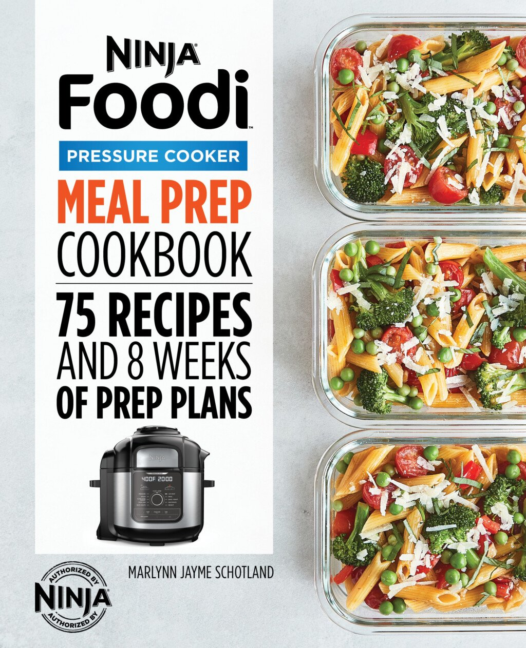 cover of the ninja foodi meal prep cookbook