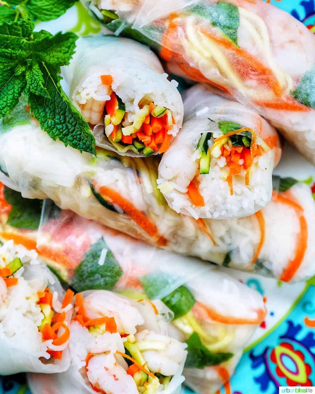 shrimp summer rolls