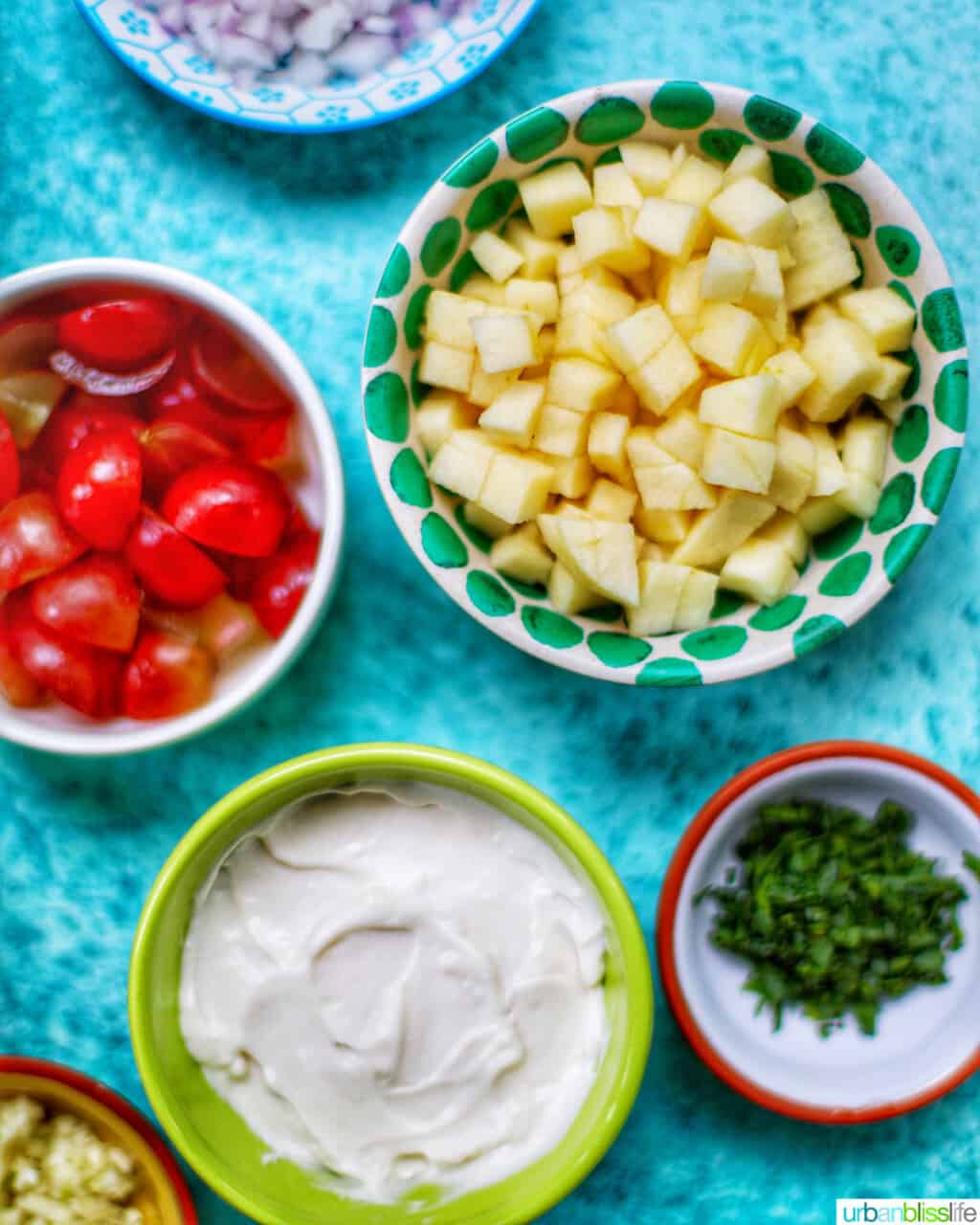 apples grapes mayo to make chicken salad sandwiches