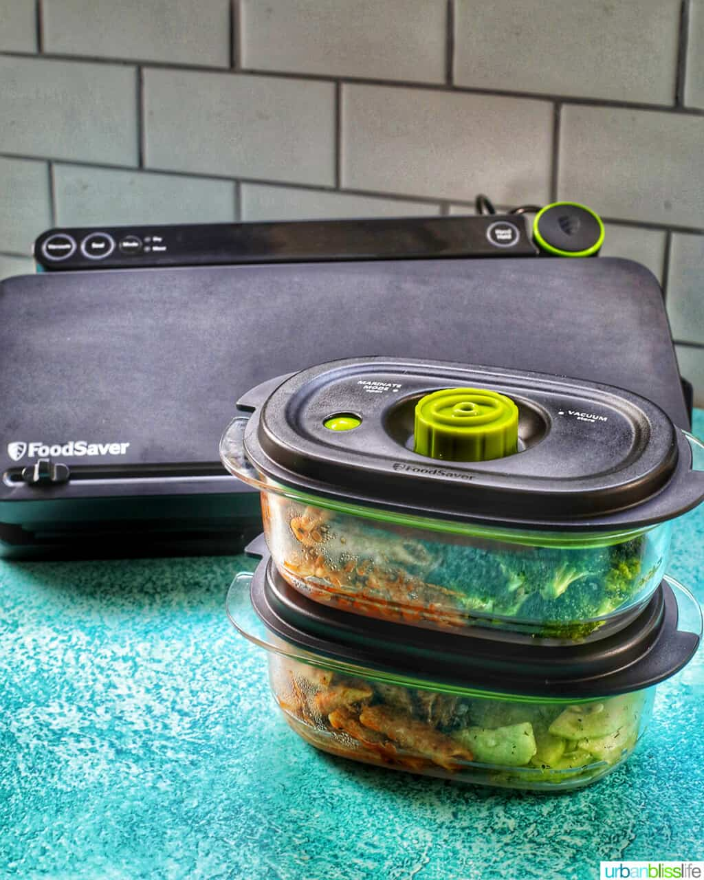 FoodSaver preserve and marinate containers and FoodSaver system