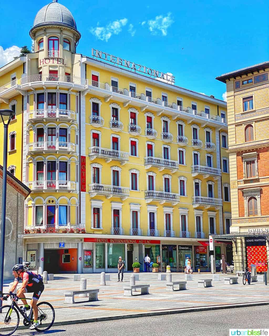 hotel in Lugano, Switzerland